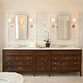 Bathroom Cabinets Walnut custom bathroom vanities | custommade