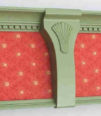 "Custom Made The ""Diplomat"" Window Cornices"