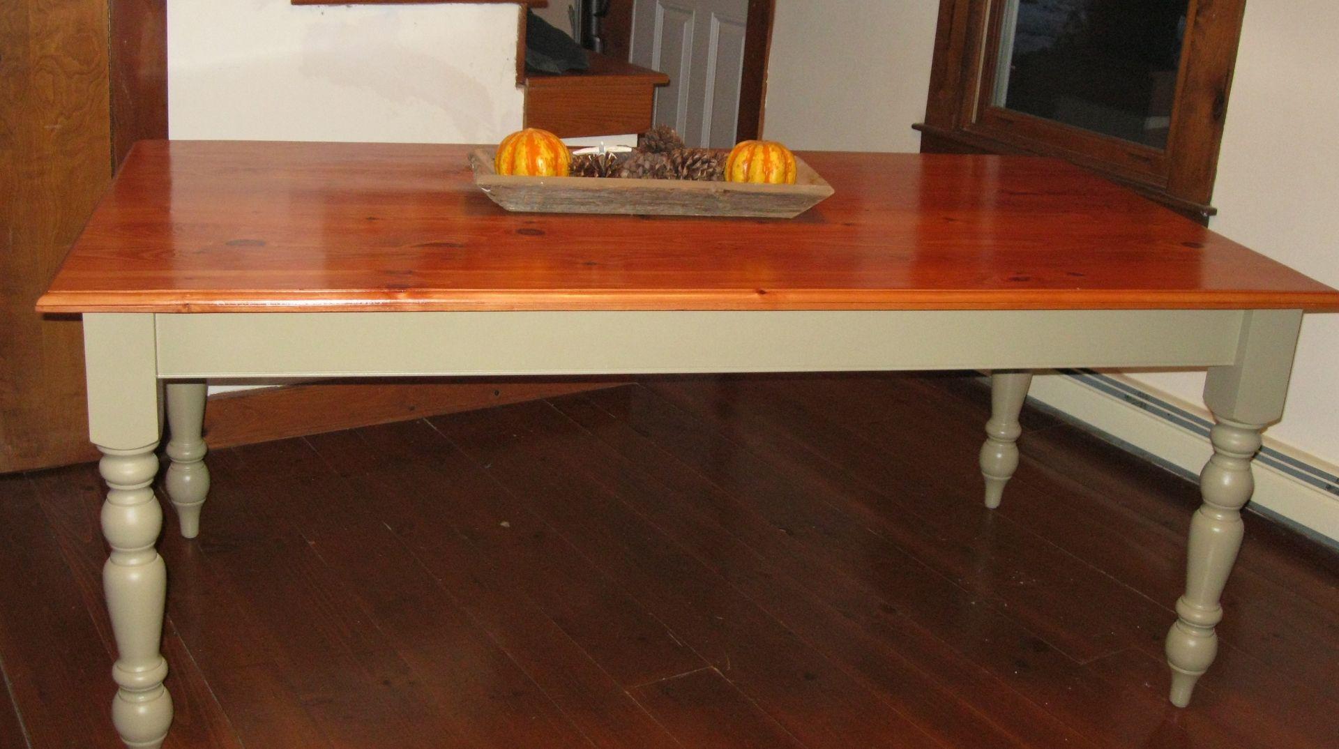 French Farmhouse Kitchen Table custom made french farmhouse kitchen tableken dubrowski