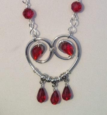 Custom Made Valentine Heart Necklace