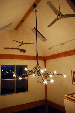 Custom Made Filler Neck Chandelier