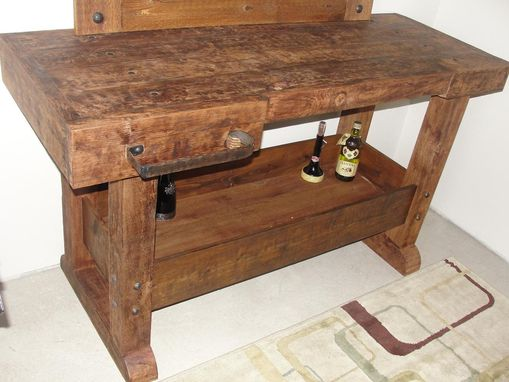Custom Made Cedar Rustic Bar/Table **All Natural Handmade Piece**