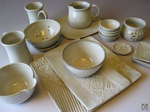 Custom Made Farm To Table Dinner Ware
