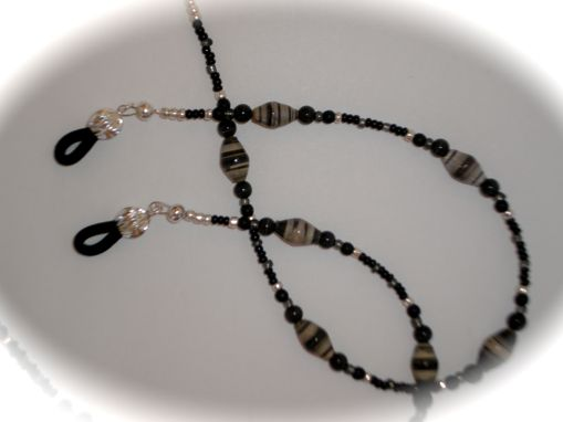 Custom Made Custom Beaded Eyeglass Chain