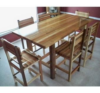 Custom Pub Table And 6 Chairs by Engineered Wood Products, Inc ...