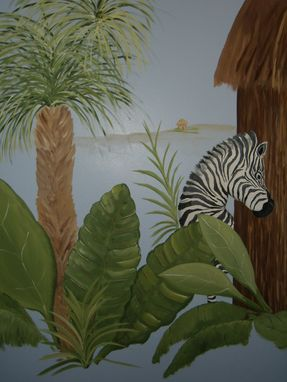"Custom Made ""It's A Jungle"" Nursery"