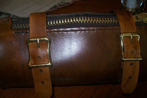 Custom Made Kayleys Custom Leather Tube Bag