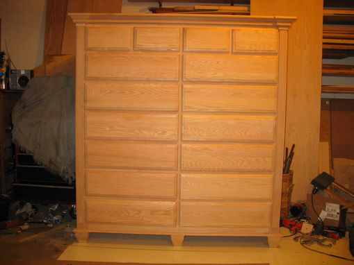 Custom Made Chest Of Drawers