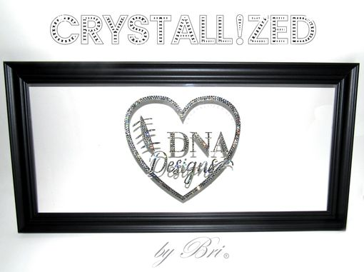 Custom Made Custom Crystallized Acrylic Business Wedding Party Name Logo Bling Swarovski Crystals Bedazzled