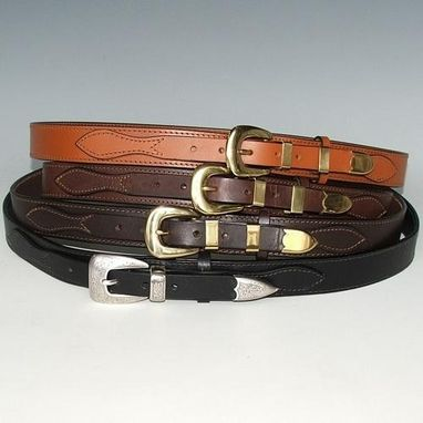 Custom Made Ranger Belts, Leather