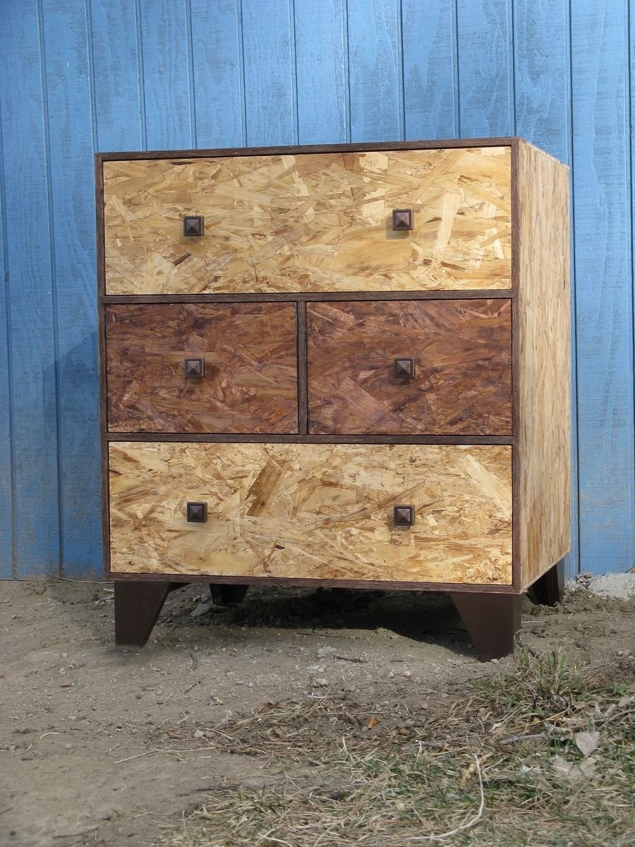 Hand Made Four Drawer Dresser Osb Watco Fine Furniture Oil