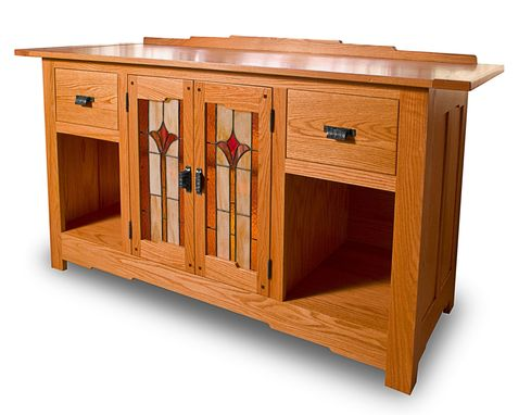 Custom Made Arts Craft Sideboard