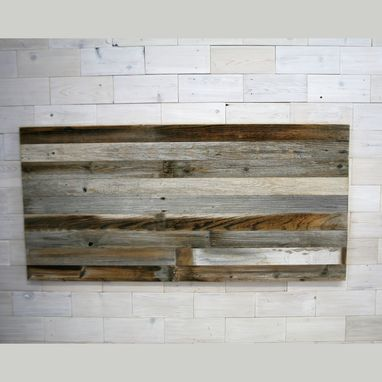 Custom Made Hanging Headboard Panel | Horizon Texture Series