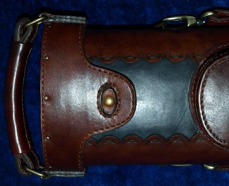 Custom Made Zdd Leather Poolstick Case