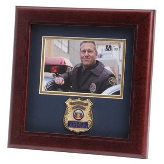 Custom Made Police Department Medallion Landscape Picture F