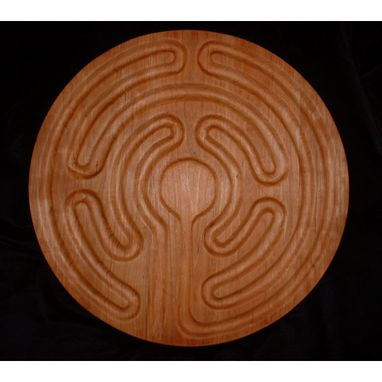 Custom Made Circular Finger Labyrinth