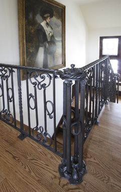 Custom Made Steel Handrail