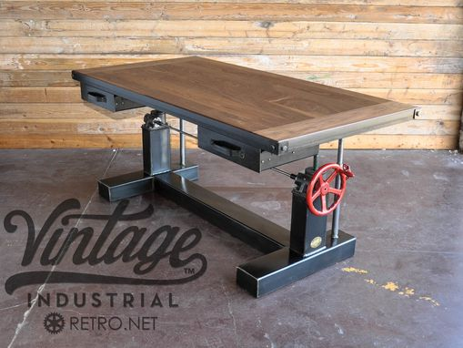 Custom Made Crank Desk