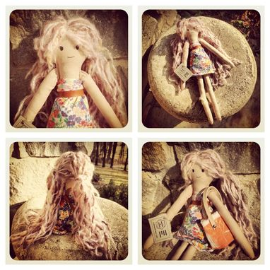 Custom Made Organic Rag Dolls