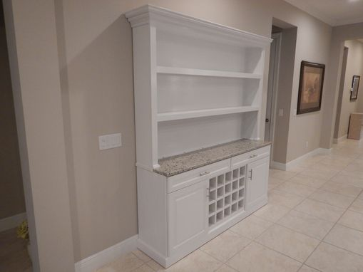 Custom Made Custom Wine Hutch