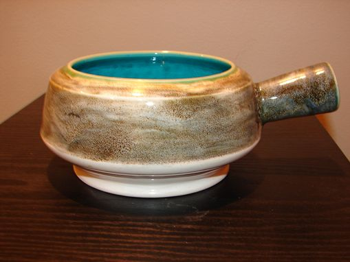 Custom Made Bowl With Handle