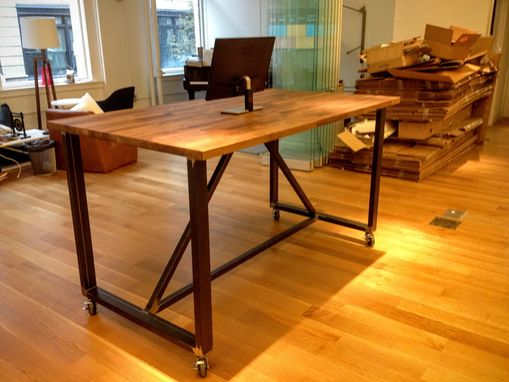 Custom Made Mobile Standing Desk