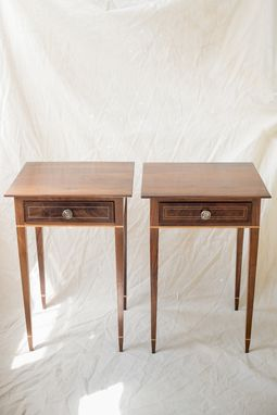Custom Made Latta-Inspired Federal End Tables