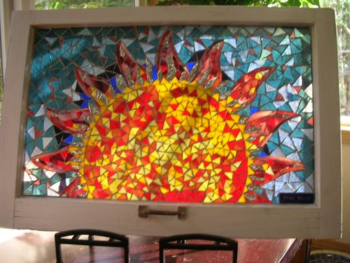 Custom Stained Glass Mosaic Windows By Tina Shoys Mosaic