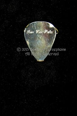 Custom Made Customized, Sterling Silver Guitar & Banjo Picks, Hand Made