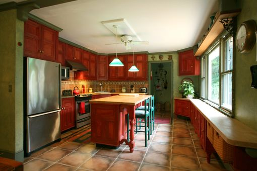 Custom Made Old World Kitchen