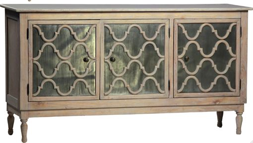 Custom Made Dupre Zinc Panelled Sideboard