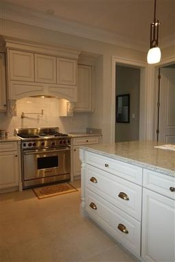 Custom Made Custom Glazed Kitchen