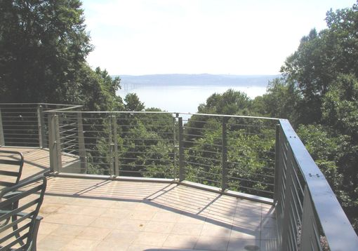 Custom Made Josephs Stanchion Deck Railing