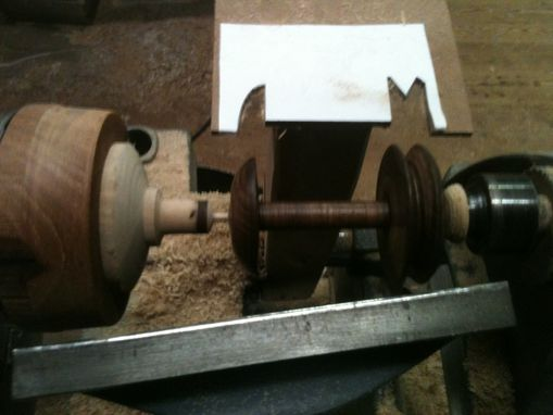 Custom Made Spinning Wheel Repair