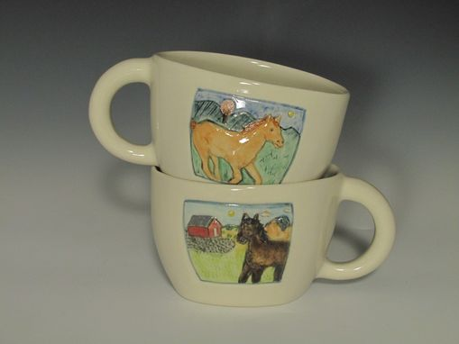 Custom Made Pet Cups