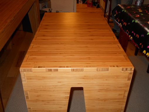 Custom Made Kitchen Island  And Utility Table