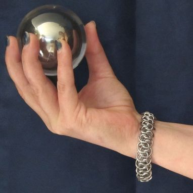 Custom Made Bracelet - Steel Shenanigans - Stainless Chainmaille
