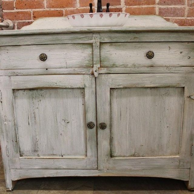 Bathroom Vanity Under $500 hand crafted custom painted bathroom vanity from reclaimed barn