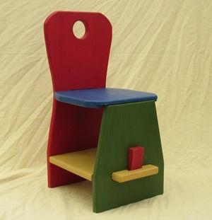 Custom Made Puzzle Chair