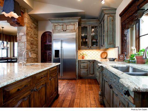 handmade custom kitchen cabinetsla puerta originals