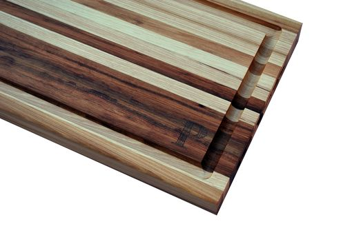 Custom Made Hickory Butcher Block Cutting Board