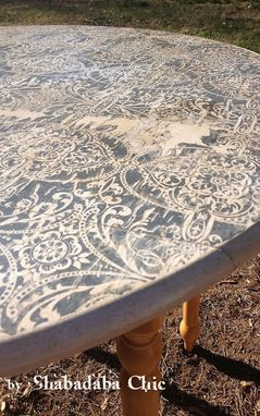 Custom Made Artisan Imprints On Wood Furniture And Accessories