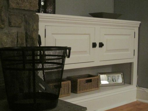 Custom Made Fireplace Built-In