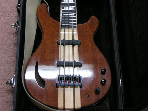 Custom Made 5-String Electric Bass Guitar