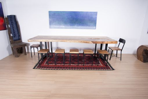 Custom Made Live Edge Wood  Slab Table - Perfect For Dining Table / Conference Table