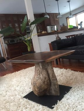 Custom Made Owlish Pedestal Table