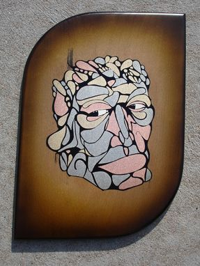 Custom Made Metallic Inlay Face