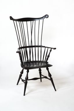 Custom Made Comb Back Windsor Chair