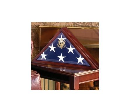 Custom Made Burial Flag Cases