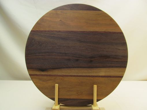 Custom Made Round Hardwood Cutting Board